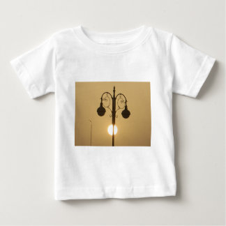 Vintage Victorian Sunset street light.png Baby T-Shirt