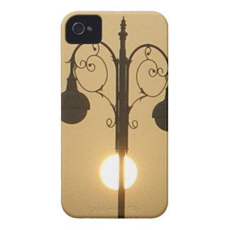 Vintage Victorian Sunset street light.png iPhone 4 Case-Mate Case