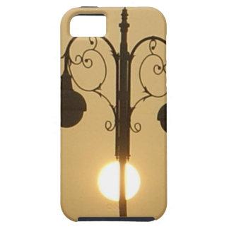 Vintage Victorian Sunset street light.png iPhone SE/5/5s Case