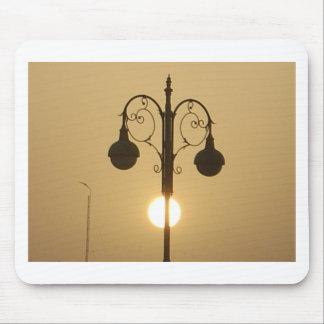Vintage Victorian Sunset street light.png Mouse Pad