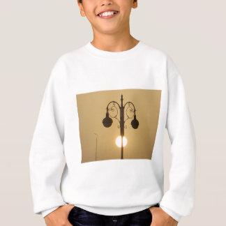 Vintage Victorian Sunset street light.png Sweatshirt