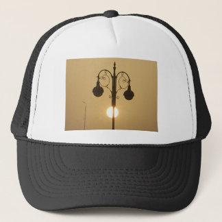 Vintage Victorian Sunset street light.png Trucker Hat