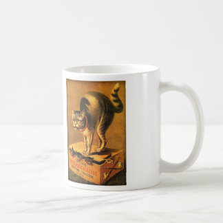 Vintage Victorian Trade Card Catlin Meerschaum Cat Coffee Mugs