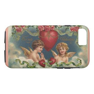 Vintage Victorian Valentine's Day Angels in Heaven iPhone 7 Case