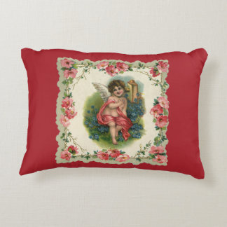 Vintage Valentines Day Pillows - Decorative & Throw Pillows Zazzle