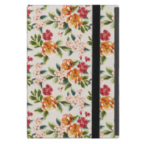 Vintage Victorian Watercolor Floral Pattern iPad Mini Case