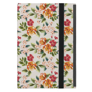 Vintage Victorian Watercolor Floral Pattern iPad Mini Cases