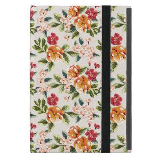 Vintage Victorian Watercolor Floral Pattern iPad Mini Cases