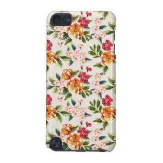 Vintage Victorian Watercolor Floral Pattern iPod Touch (5th Generation) Cover