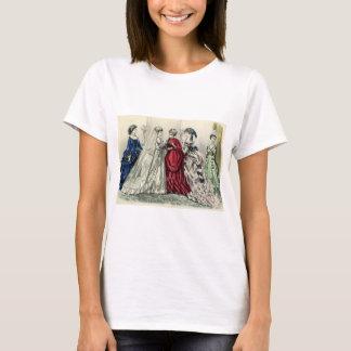 Vintage Victorian Wedding Bride Bridesmaid Bridal T-Shirt