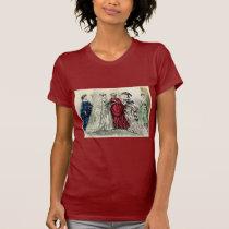 Vintage Victorian Wedding Party Bridal Portrait T-Shirt