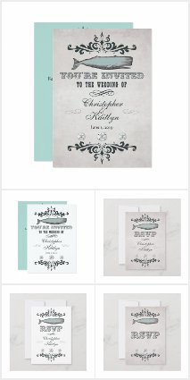 Vintage Victorian Whale Wedding Collection