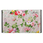 Vintage Victorian Whimsical Garden iPad Cases