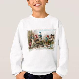 Vintage Victorian Yule Log Sweatshirt