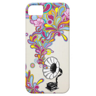 Vintage Victrola Music iPhone 5 Barely There Case