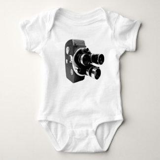vintage video camera baby bodysuit