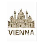 Vintage Viena Postal