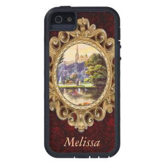 Vintage Vienna Park Postcard iPhone 5 Cases