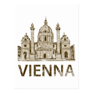 Vintage Vienna Postcard