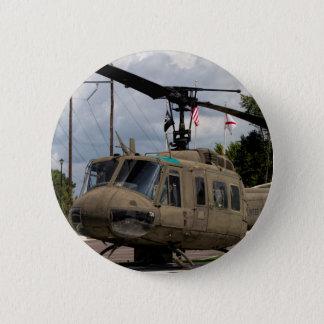 Vintage Vietnam Era Uh-1 Huey Military Chopper Button