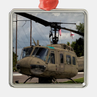 Vintage Vietnam Era Uh-1 Huey Military Chopper Metal Ornament