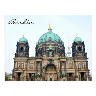 Vintage view of Berlin Cathedral (Berliner Dom) Postcard