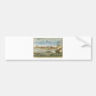 Vintage View of the City of New York from the SW Bumper Sticker