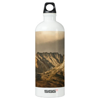VINTAGE VIEW OF THE EASTERN SIERRA MOUNTAINS WATER BOTTLE