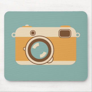 Vintage Viewfinder Film Camera Analog Style Mouse Pad