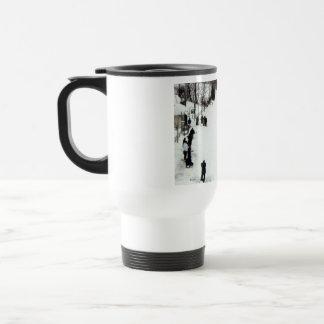 Vintage Village Train mug