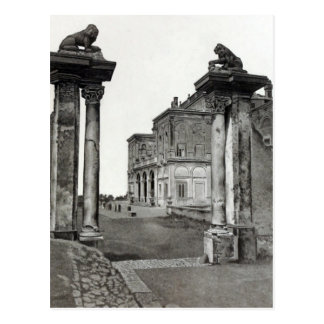 Vintage Villas & Gardens: The Entrance Postcard