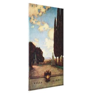 Vintage Villas & Gardens: Villa Campi Canvas Print