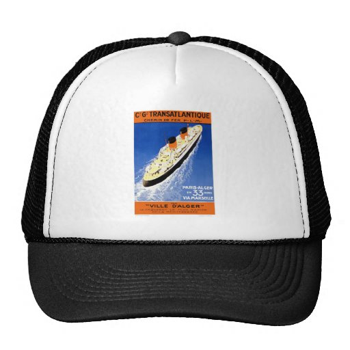 Vintage Ville D'Alger Trucker Hat
