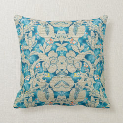 Vintage Vine 1920's Pillow Throw