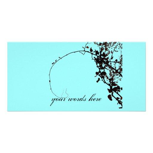 Vintage Vine Inspiration Photo Card Template