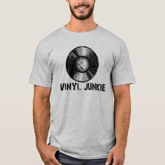 Vintage Vinyl Junkie T-Shirt