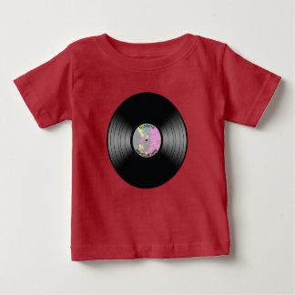 Vintage Vinyl Music Record Nightclub Or Dance Fan Baby T-Shirt