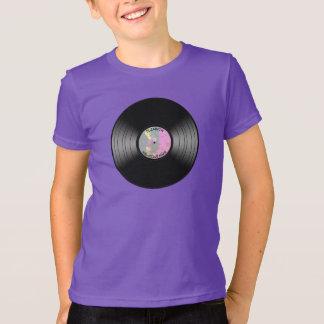 Vintage Vinyl Music Record Nightclub Or Dance Fan T-Shirt