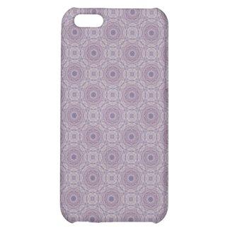Vintage Violet Fancy Circles iPhone 5 Case
