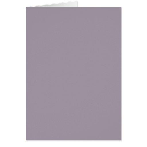 Vintage Violet Light Purple Color Trend Template Cards
