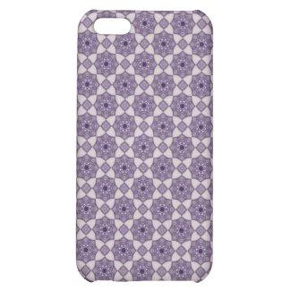 Vintage Violet Mosaic Pattern 2 iPhone 5 Case