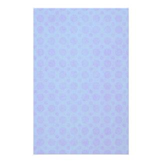 Vintage violeta azul del Grunge de la acuarela de  Personalized Stationery
