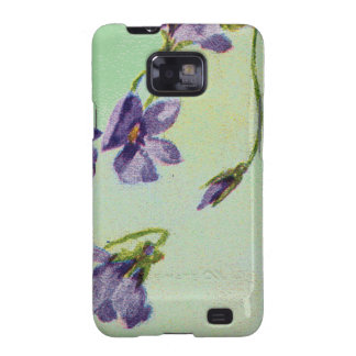 Vintage Violets Case-Mate Samsung Galaxy S2 Barely Galaxy SII Cases