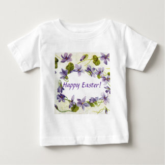 Vintage Violets Easter Infant T-Shirt