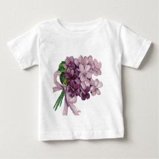 Vintage Violets Nosegay Bouquet Infant T-Shirt