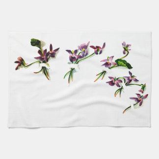Vintage Violets Towel