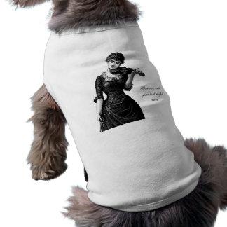 Vintage Violinist Pet Clothing