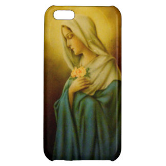 Vintage Virgin Mary St. Mary iPhone Case