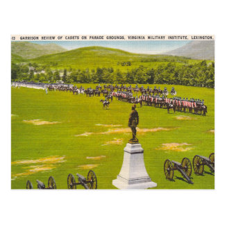 Vintage Virginia Military Institute Postcard