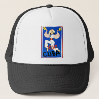 Vintage Visit Cuba Trucker Hat